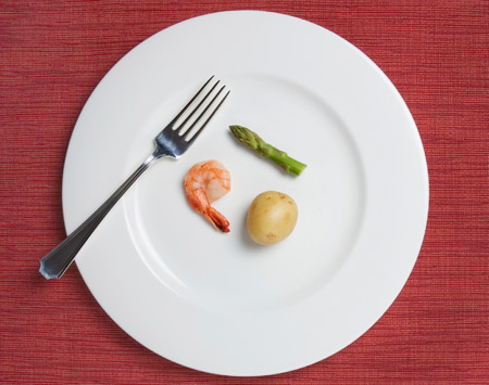 Calorie restriction diet.