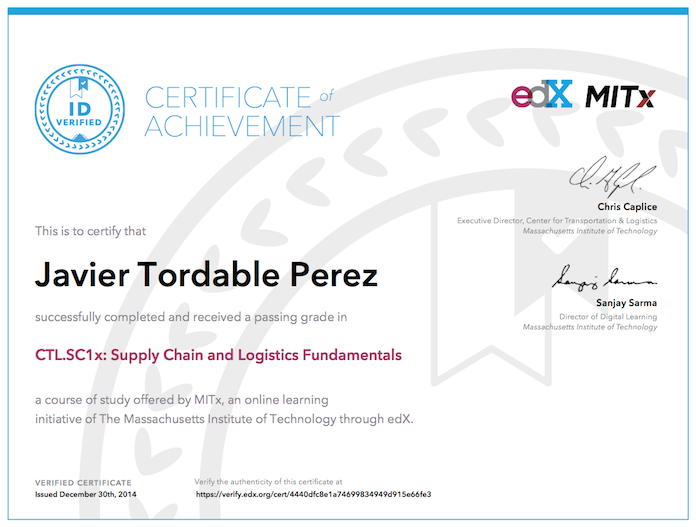 Supply Chain – Javier Tordable – Technology executive ...