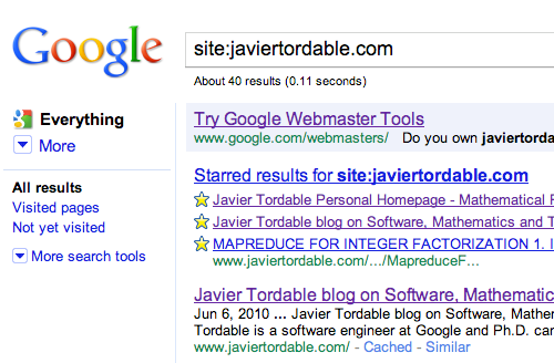 Google promotion for Webmaster Tools