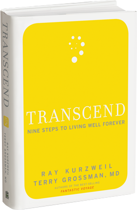 TRANSCEND book by Ray Kurzweil and Terry Grossman